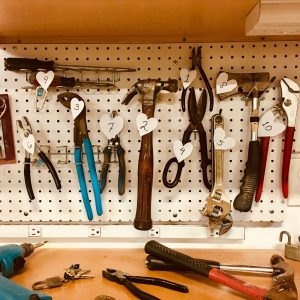 Tools for building a tiny house